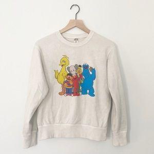 KAWS x Uniqlo Sesame Street Group #2 Sweatshirt